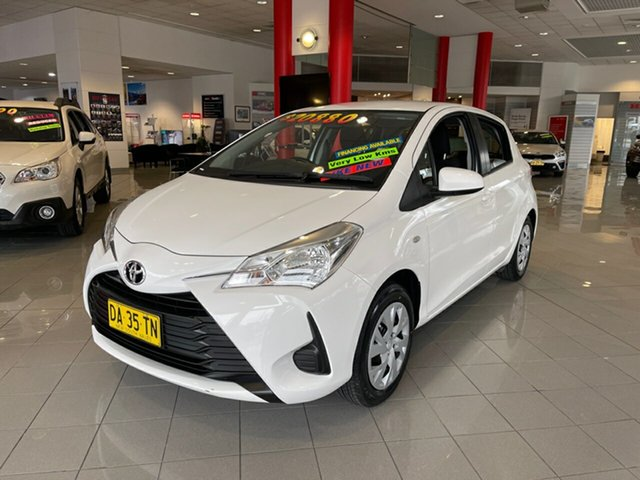 Used Toyota Yaris NCP130R Ascent Artarmon, 2019 Toyota Yaris NCP130R Ascent White 4 Speed Automatic Hatchback