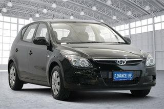 2011 Hyundai i30 FD MY11 SX Black 4 Speed Automatic Hatchback.
