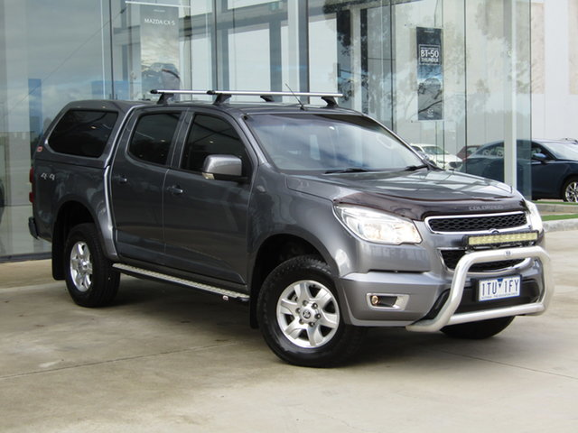 Used Holden Colorado RG MY15 LT Crew Cab Ravenhall, 2015 Holden Colorado RG MY15 LT Crew Cab Grey 6 Speed Sports Automatic Utility
