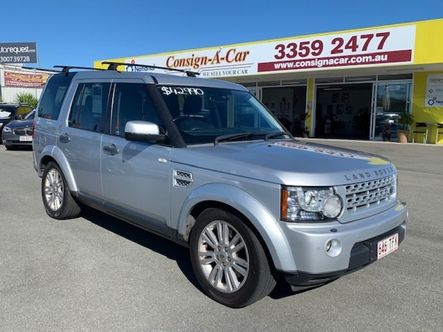 Used Land Rover Discovery 4 Series 4 L319 MY13 TDV6 Kedron, 2013 Land Rover Discovery 4 Series 4 L319 MY13 TDV6 Silver 8 Speed Sports Automatic Wagon