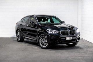 2020 BMW X4 G02 xDrive20i Coupe Steptronic M Sport Black 8 Speed Automatic Wagon.