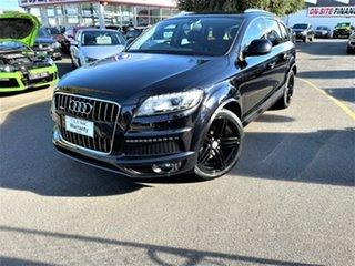 2013 Audi Q7 4L MY14 TDI Tiptronic Quattro Black 8 Speed Sports Automatic Wagon.