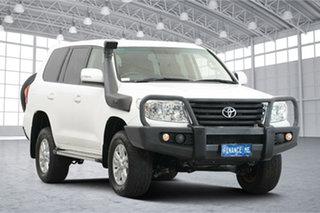 2015 Toyota Landcruiser VDJ200R MY13 GXL White 6 Speed Sports Automatic Wagon.