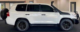 2014 Toyota Landcruiser VDJ200R MY13 GX White 6 Speed Sports Automatic Wagon.