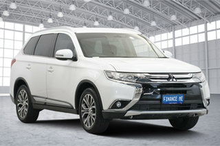 2016 Mitsubishi Outlander ZK MY16 XLS 2WD Starlight 6 Speed Constant Variable Wagon.