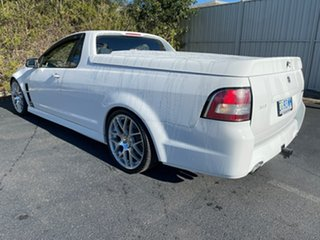 2010 Holden Special Vehicles Maloo E Series 2 GXP Heron White 6 Speed Manual Utility