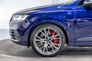 2019 Audi SQ7 4M MY19 TDI Tiptronic Blue 8 Speed Sports Automatic Wagon