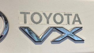 1999 Toyota Landcruiser Prado VZJ95R Grande White 4 Speed Automatic Wagon