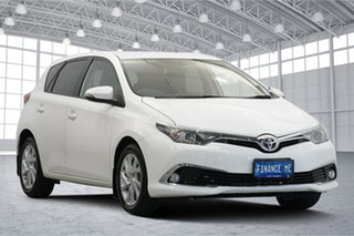 2015 Toyota Corolla ZRE182R Ascent Sport S-CVT White 7 Speed Constant Variable Hatchback.