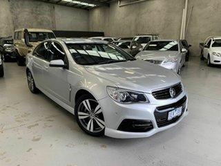 2014 Holden Commodore VF MY14 SV6 Silver 6 Speed Sports Automatic Sedan.