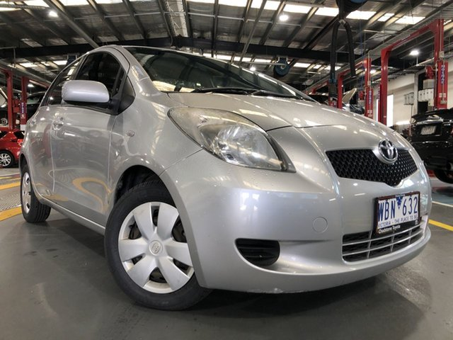 Pre-Owned Toyota Yaris NCP90R YR Oakleigh, 2007 Toyota Yaris NCP90R YR Quicksilver 4 Speed Automatic Hatchback