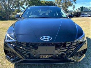 2021 Hyundai i30 CN7.V1 MY21 N Line D-CT Special Edition Phantom Black 7 Speed.