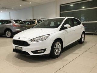 2017 Ford Focus LZ Trend Frozen White 6 Speed Automatic Hatchback