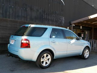2010 Ford Territory SY MkII TX Blue 4 Speed Sports Automatic Wagon