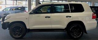 2014 Toyota Landcruiser VDJ200R MY13 GX White 6 Speed Sports Automatic Wagon