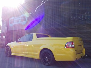 2011 Holden Ute VE II SV6 Yellow 6 Speed Sports Automatic Utility