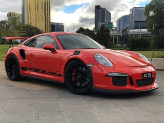 2016 Porsche 911 991 MY16 GT3 PDK RS Orange 7 Speed Sports Automatic Dual Clutch Coupe.