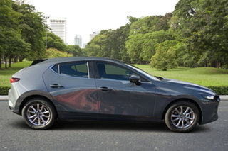 2021 Mazda 3 BP2H7A G20 SKYACTIV-Drive Pure Polymetal Grey 6 Speed Sports Automatic Hatchback.