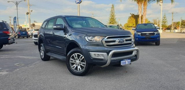 Used Ford Everest UA Trend Morley, 2015 Ford Everest UA Trend Metropolitan Grey 6 Speed Sports Automatic SUV