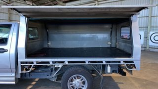 2008 Holden Colorado RC LX 4x2 Silver 5 Speed Manual Cab Chassis