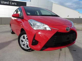 2020 Toyota Yaris NCP130R Ascent Cherry 4 Speed Automatic Hatchback