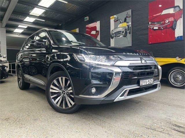 Used Mitsubishi Outlander ZL LS Glebe, 2018 Mitsubishi Outlander ZL LS Black Constant Variable Wagon