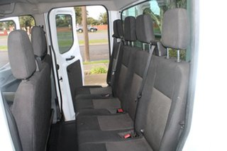 2016 Ford Transit VO MY17.25 470E LWB White 6 Speed Manual Dual Cab Chassis