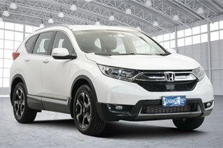 2019 Honda CR-V RW MY20 VTi-S 4WD White 1 Speed Constant Variable Wagon.