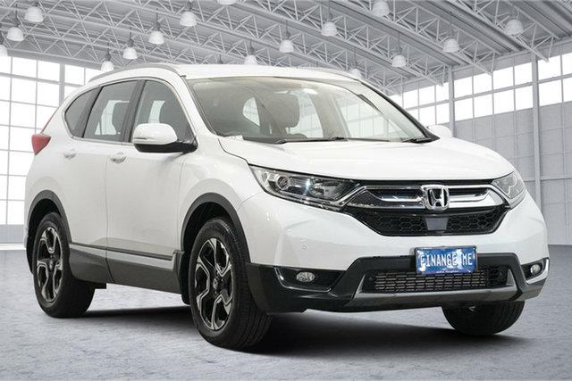 Used Honda CR-V RW MY20 VTi-S 4WD Victoria Park, 2019 Honda CR-V RW MY20 VTi-S 4WD White 1 Speed Constant Variable Wagon