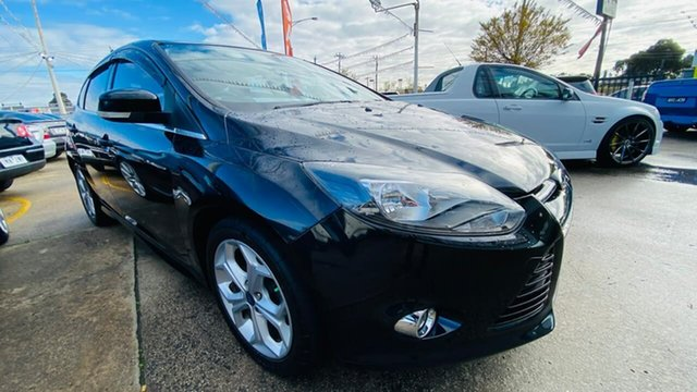 Used Ford Focus LW MkII Sport PwrShift Maidstone, 2014 Ford Focus LW MkII Sport PwrShift Black 6 Speed Sports Automatic Dual Clutch Hatchback