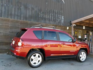 2014 Jeep Compass MK MY14 North Red 6 Speed Sports Automatic Wagon