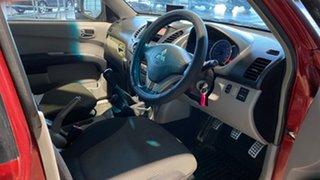 2006 Mitsubishi Triton ML MY07 GLX-R Double Cab Red 5 Speed Manual Utility