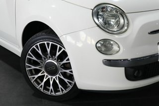 2010 Fiat 500C Series 1 White 6 Speed Manual Convertible.