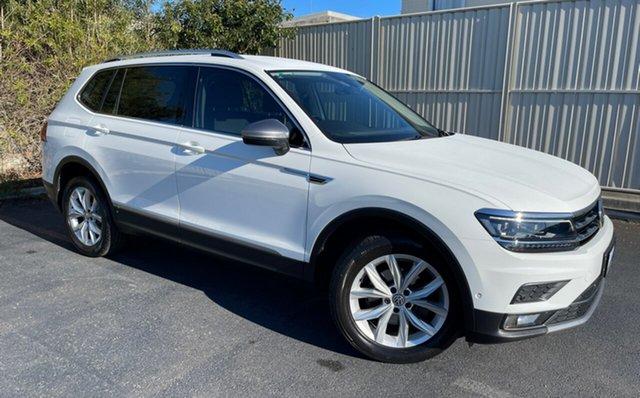 Used Volkswagen Tiguan 5N MY18 110TSI Comfortline DSG 2WD Allspace Devonport, 2018 Volkswagen Tiguan 5N MY18 110TSI Comfortline DSG 2WD Allspace White 6 Speed