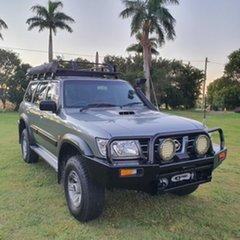 2003 Nissan Patrol GU III MY2003 ST Grey 5 Speed Manual Wagon.