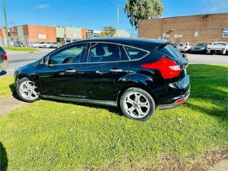 2012 Ford Focus LW Trend Black 6 Speed Automatic Hatchback.