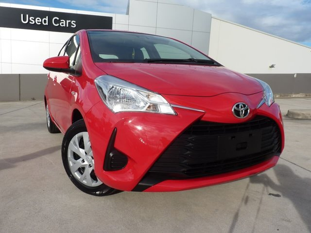 Pre-Owned Toyota Yaris NCP130R Ascent Blacktown, 2020 Toyota Yaris NCP130R Ascent Cherry 4 Speed Automatic Hatchback