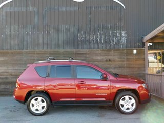2014 Jeep Compass MK MY14 North Red 6 Speed Sports Automatic Wagon.