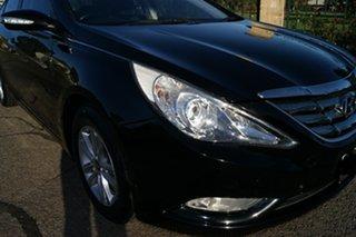 2011 Hyundai i45 YF MY11 Elite Black 6 Speed Automatic Sedan.