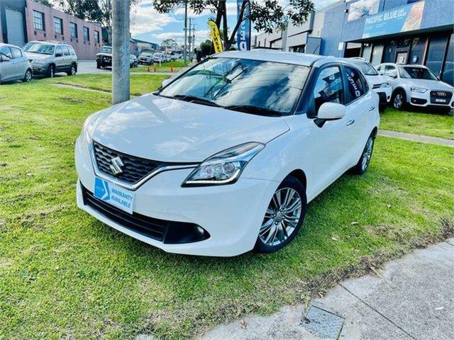 Used Suzuki Baleno GL (Qld) Dandenong, 2016 Suzuki Baleno GL (Qld) White 4 Speed Automatic Hatchback
