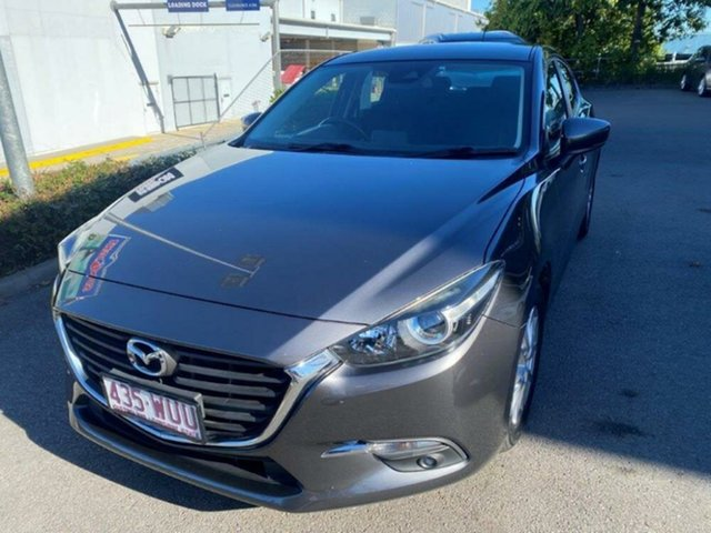 Used Mazda 3 BM5478 Maxx SKYACTIV-Drive Springwood, 2016 Mazda 3 BM5478 Maxx SKYACTIV-Drive Grey 6 Speed Sports Automatic Hatchback