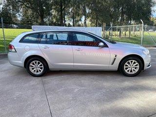 2015 Holden Commodore VF MY15 Evoke Sportwagon Silver 6 Speed Sports Automatic Wagon