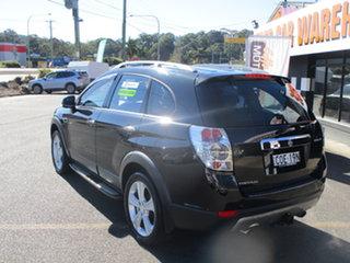 2013 Holden Captiva CG MY13 7 LX (4x4) Black 6 Speed Automatic Wagon.