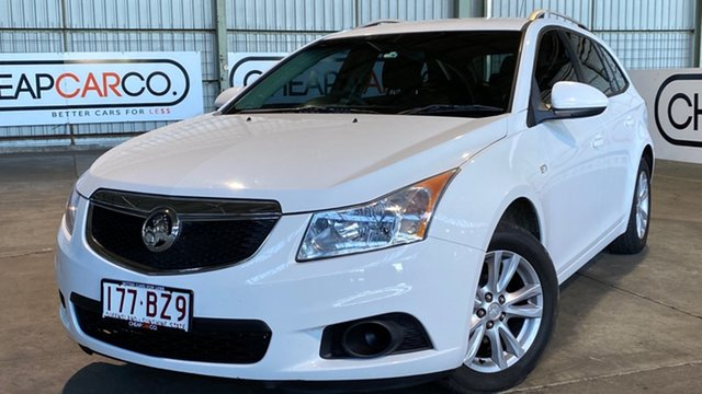 Used Holden Cruze JH Series II MY14 CD Sportwagon Rocklea, 2014 Holden Cruze JH Series II MY14 CD Sportwagon White 6 Speed Sports Automatic Wagon