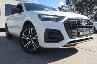 2020 Audi Q5 FY MY21 40 TDI S Tronic Quattro Ultra Launch Edition Glacier White 7 Speed.