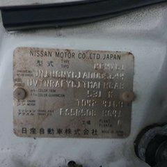 2001 Nissan Patrol GU ST 5 Speed Manual Cab Chassis