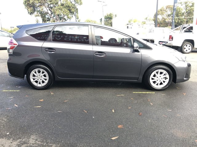 Pre-Owned Toyota Prius v ZVW40R Oakleigh, 2016 Toyota Prius v ZVW40R Graphite 1 Speed Constant Variable Wagon