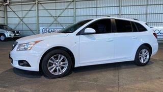 2014 Holden Cruze JH Series II MY14 CD Sportwagon White 6 Speed Sports Automatic Wagon.