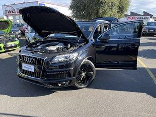 2013 Audi Q7 4L MY14 TDI Tiptronic Quattro Black 8 Speed Sports Automatic Wagon