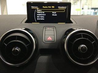 2015 Audi A1 8X MY16 Sport Sportback S Tronic Brilliant Black 7 Speed Sports Automatic Dual Clutch